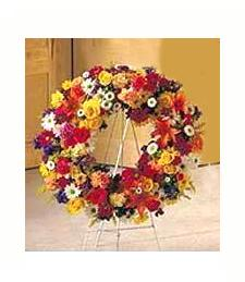 Array of Colors Wreath
