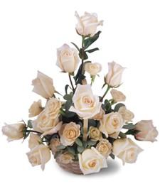 Sunny Day Birthday Rose Basket