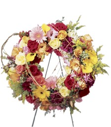 Ring of Friendship Funeral Wreath