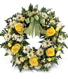 Light of My Life Wreath