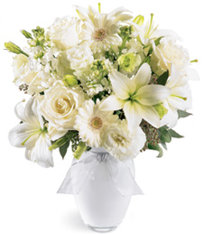 Billowing Waters Sympathy Bouquet