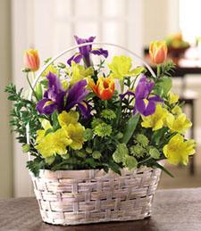 Petal Delights Valentine's Basket
