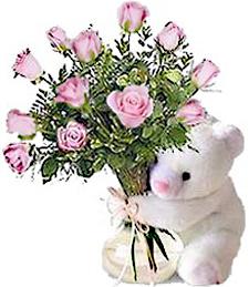 Bear & Roses