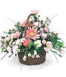Pink Beauties Basket