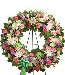 Unconditional Love Sympathy Wreath